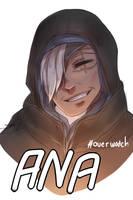 New Hero!! Ana - Overwatch by yesterdaybegin