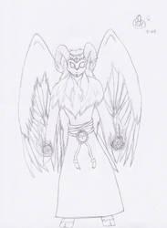 Zodiac Angels - Aries by dragonartist713
