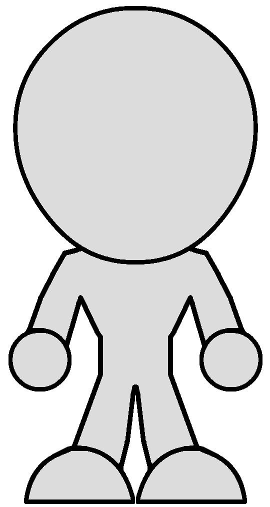 Chibi Body Template V2 Female By Zeltrax987