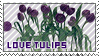 love tulips stamp by wol4ica-stock