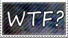 wtf? stamp by wol4ica-stock