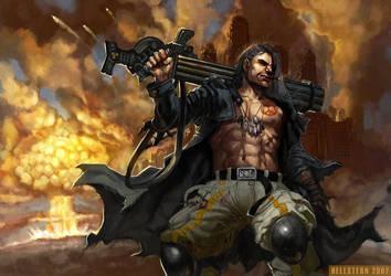 God of War by Hellstern