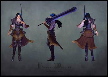 Flower Warrior by Hellstern