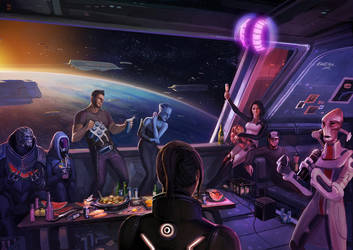 Mass Effect 3 how it should've ended by Hellstern