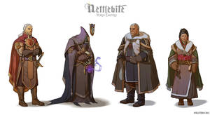 Torn Empire costumes by Hellstern