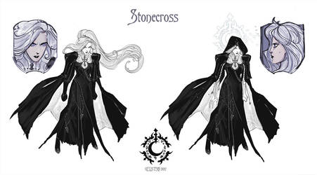 Stonecross: Leda concept sheet by Hellstern