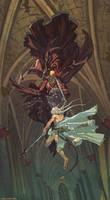 Twin swords by Hellstern