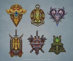 Races heraldics\emblems by Hellstern