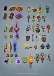 Magic Items by Hellstern