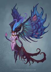 Demon boss by Hellstern