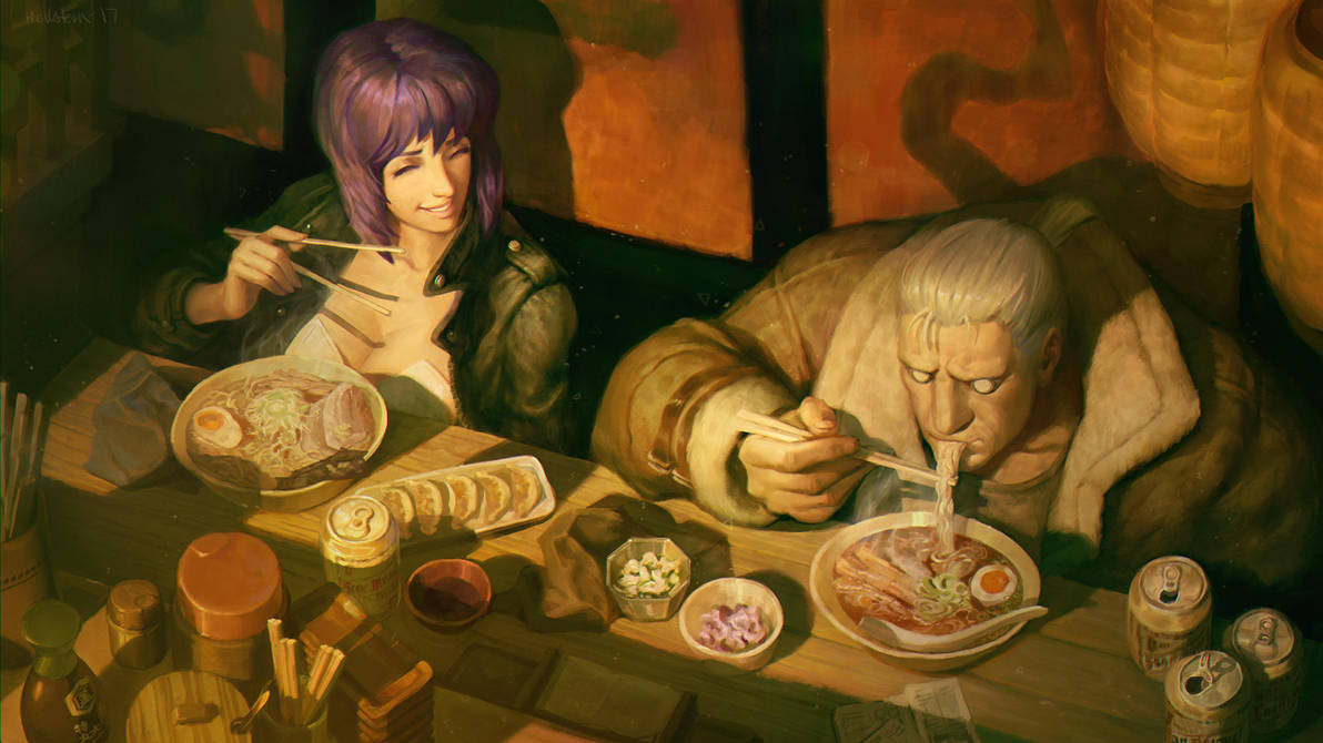 All I need. Ghost in the Shell fanart by Hellstern