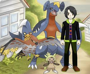 Me in Pokemon - Wade -Scottie- Scotland by Random-x-Readers