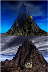 Mystery Mountain by Iscreamer1