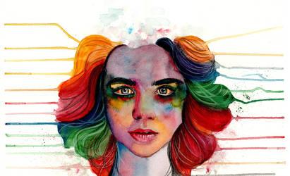 A Grieving Rainbow by MarzyArt