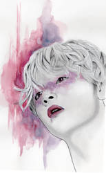 Purple - Implore by MarzyArt