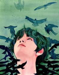 Faith -  Taehyung by MarzyArt