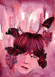 like a BUTTERFLY by MarzyArt