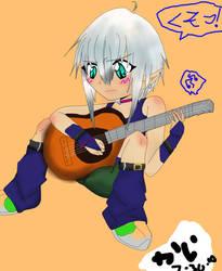 BAKA elves cant play guitar by Kais-a-ninja