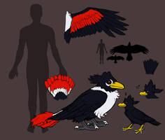 A Study of Krows by IvynaJSpyder