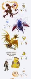 PokeFusions II by JWiesner