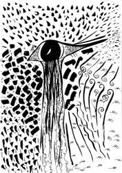 Eye-bird by Gordjia