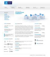 Web Design Mock up for IAA by ElenaSham