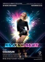 Heaven Sent Club Poster by ElenaSham