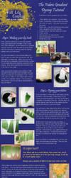 Fabric Gradient Dye Tutorial by FireLilyCosplay