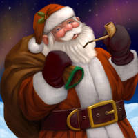 Santa Under the Northern Light by Nyrak