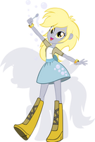 Equestria Girls - Derpy by Rariedash
