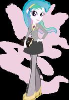 Equestria Girls - Princess Celestia by Rariedash