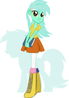 Equestria Girls - Lyra Heartstring by Rariedash