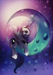 Princess Luna - Loli Ruri by Rariedash