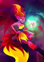 Demonic shimmer by Rariedash