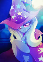Great and Powerful Trixie by Rariedash