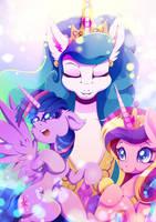 Princesses of Harmony by Rariedash