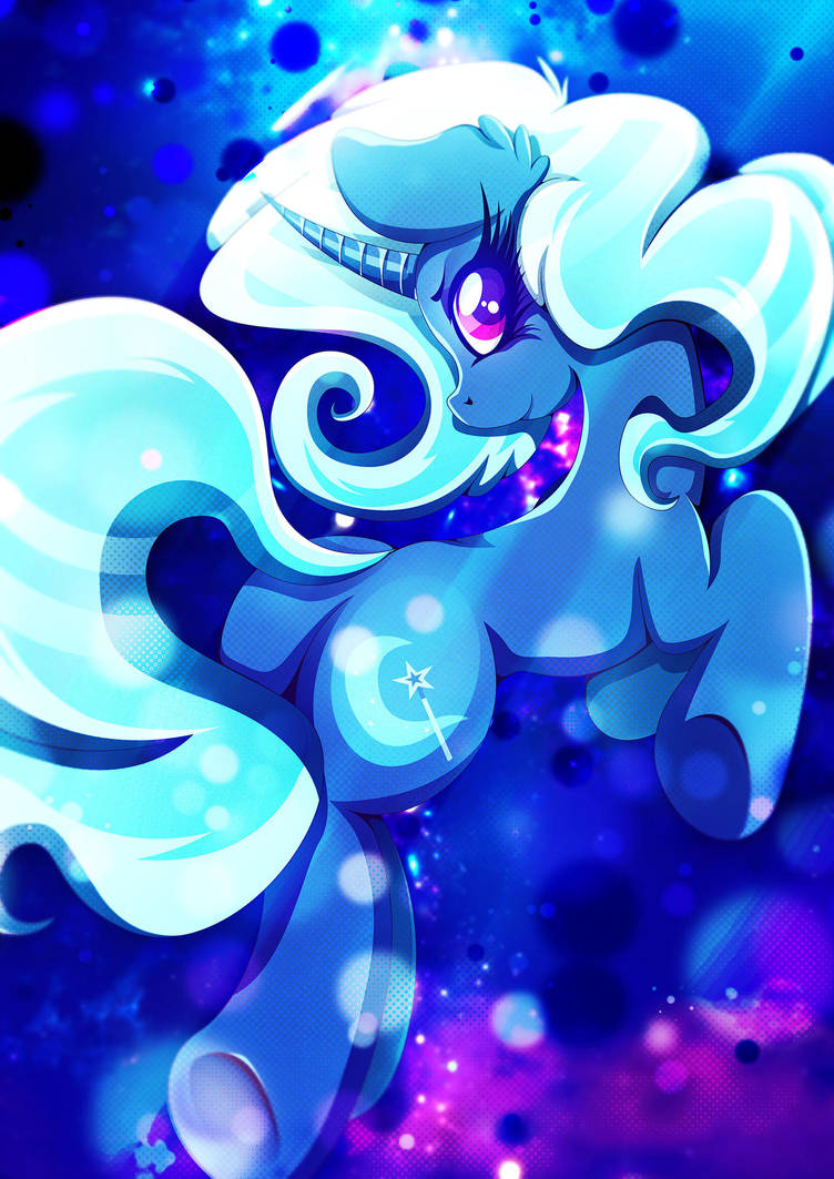 The Great and Powerful Trixie by Rariedash