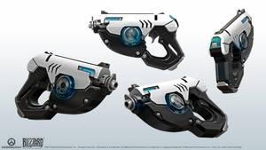 Pulse pistols by Rariedash