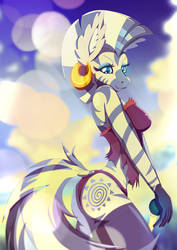 Zecora - Breath of the tribe by Rariedash