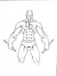 Daredevil-Work In Progress by KJaxCreative