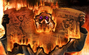 Burning news by Mabiruna