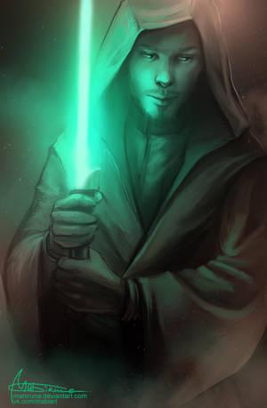 Jedi concept for one nice man by Mabiruna