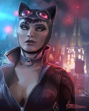 Catwoman by Mabiruna