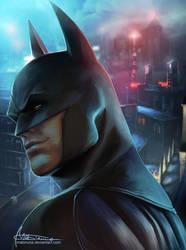 Batman by Mabiruna