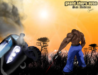 Grand Theft Auto San andreas by omarkhan
