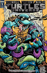 TMNT: Slash - sketch cover by donovanalex