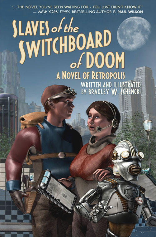 Cover for 'Slaves of the Switchboard of Doom' by BWS