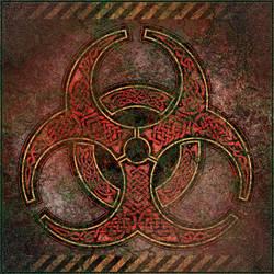 Knotwork Biohazard Symbol by BWS