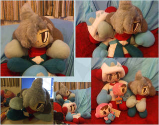 Mr Driller - Ataru Plush by Dext