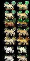 Pokemon Variations: Leafeon by Teatreeleaf